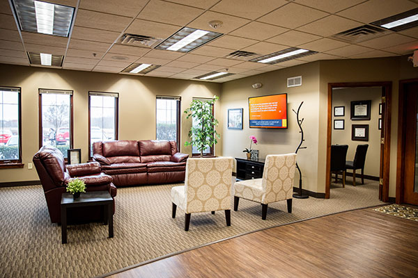 Chiropractic Brookfield WI Waiting Area