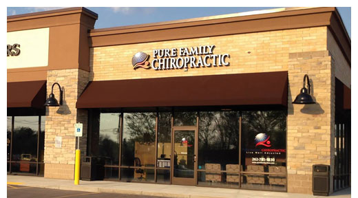Chiropractic New Berlin WI Pure Family Chiropractic New Berlin Office Building