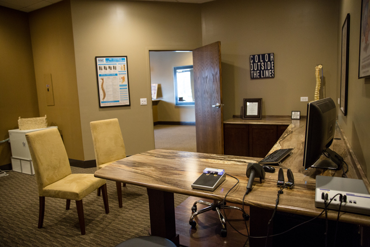 Chiropractic New Berlin WI Consultation Area