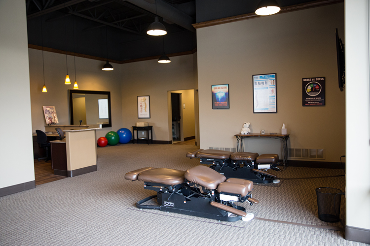 Chiropractic New Berlin WI Treatment Room