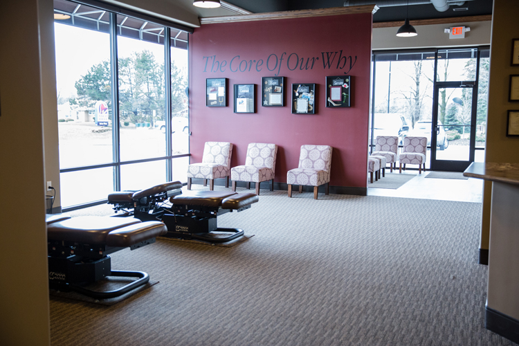 Chiropractic New Berlin WI Waiting Room